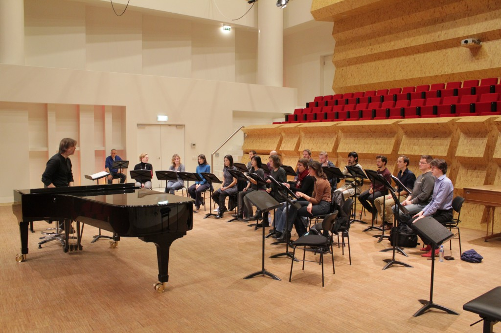 Impression of the first rehearsals 2013 edition